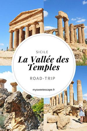 road trip en sicile, vallée des temples, pinterest