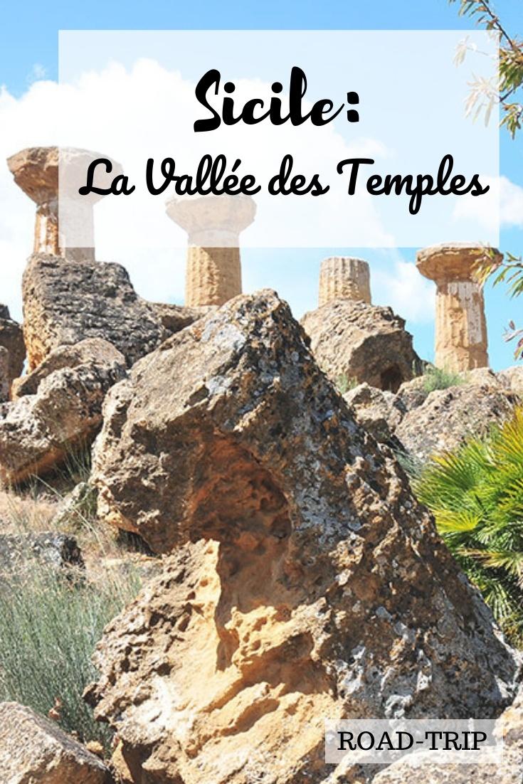 visite de la vallée des temples, sicile
