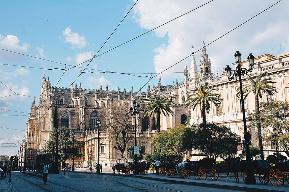 cathédrale de séville, week-end à séville