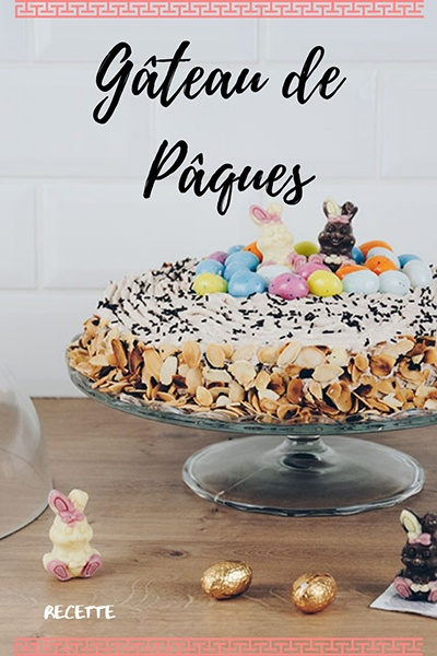 gâteau de pâques, recette