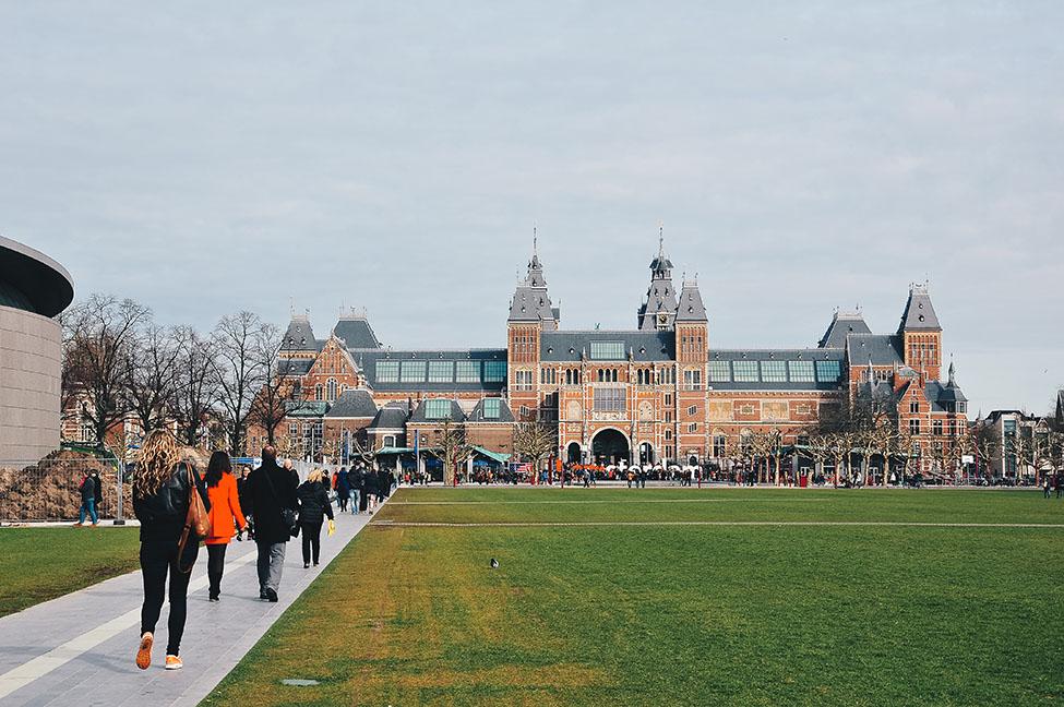 choses à faire à amsterdam: museumplein