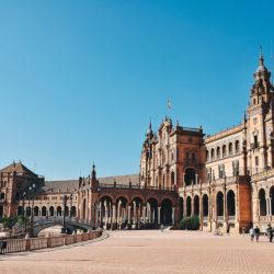 plaza de espana, week-end à séville
