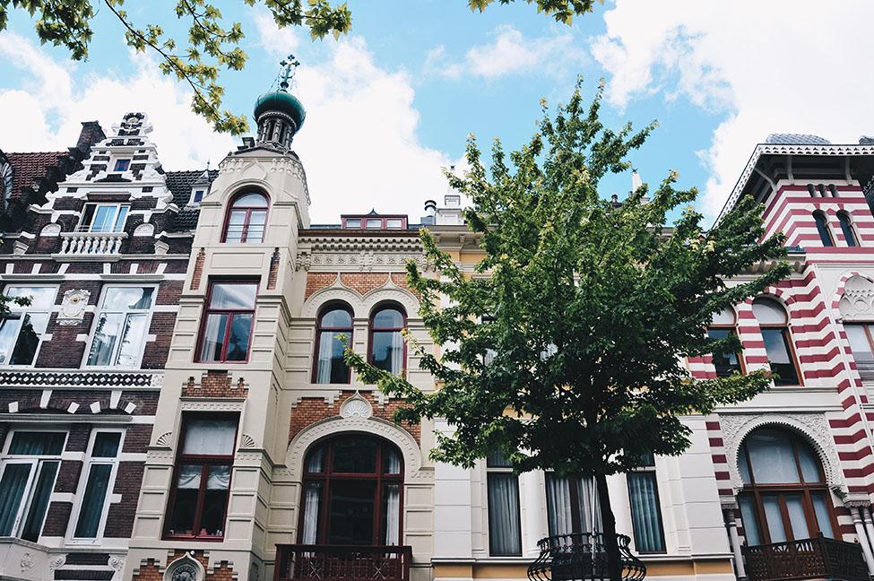 choses à faire à amsterdam: rue Roemer Visscherstraat, Zevenlandenhuizen