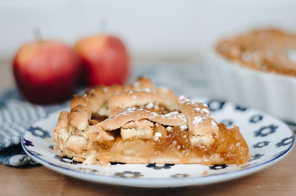 recette apple pie, tarte aux pommes américaine