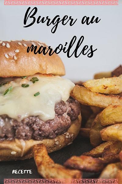 recette burger au maroilles
