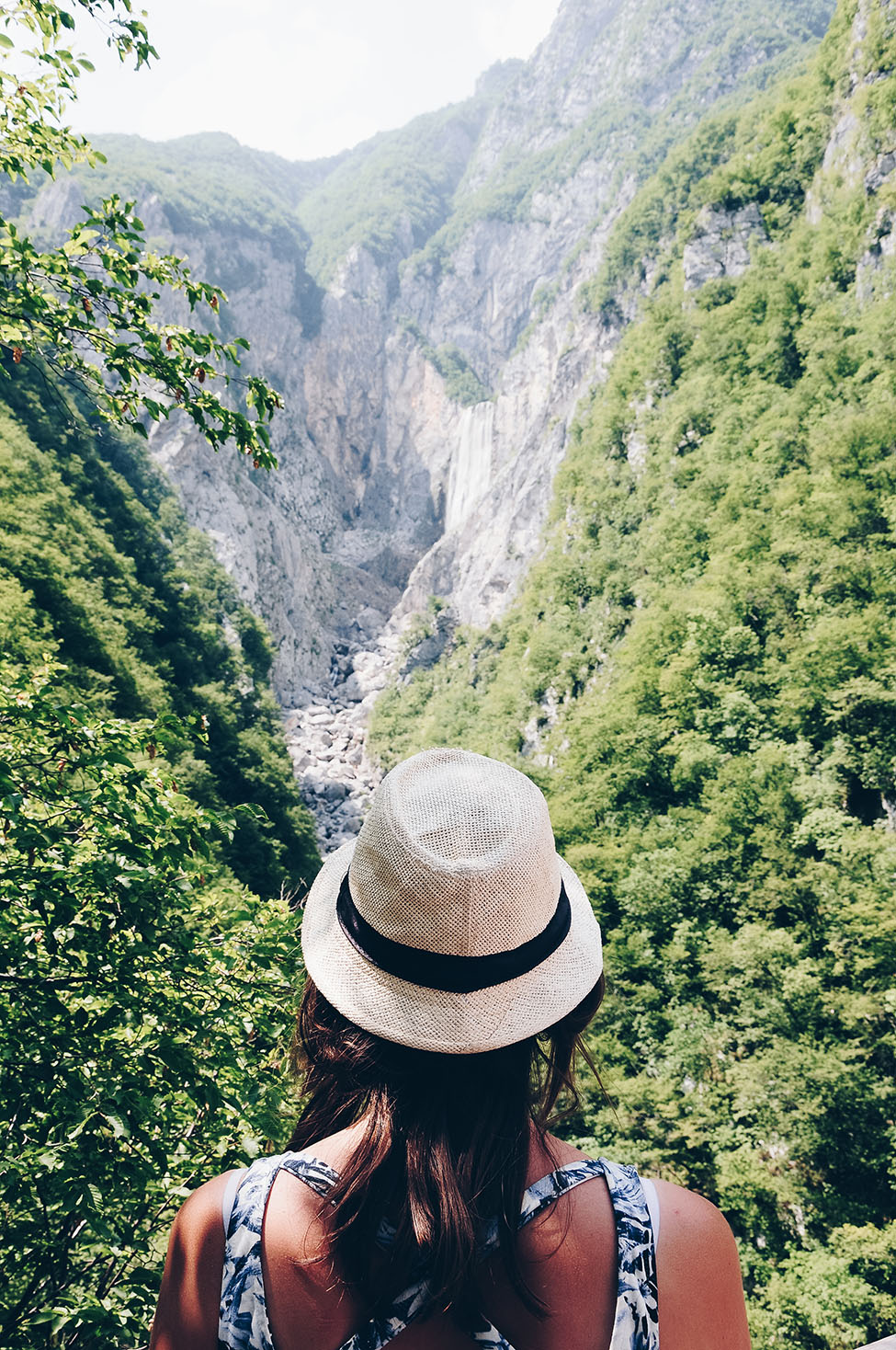 road-trip en slovénie, cascade