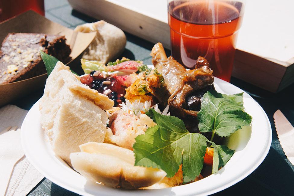 déjeuner foodtruck au goût de la nature, festival de l'oiseau, baie de somme