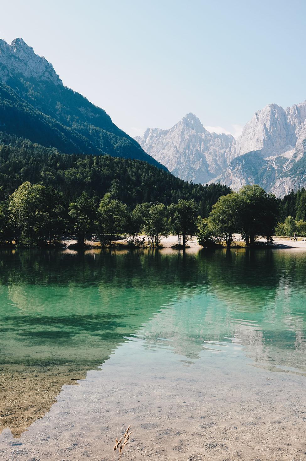 road-trip en slovénie, lac de jasna, Kranjska Gora