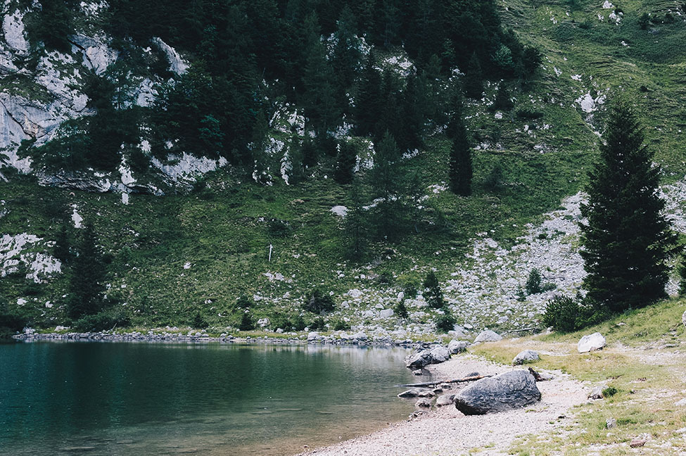 randonnée lac krn, Krnsko jezero, road-trip en slovénie
