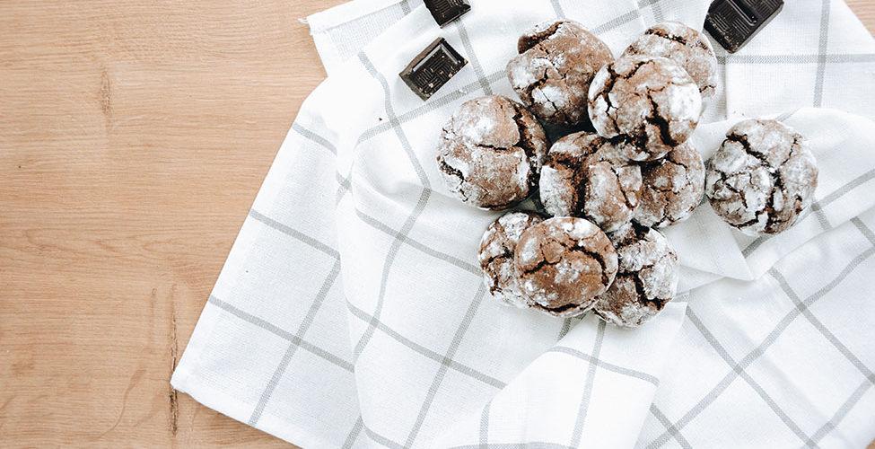recette de crinkles au chocolat