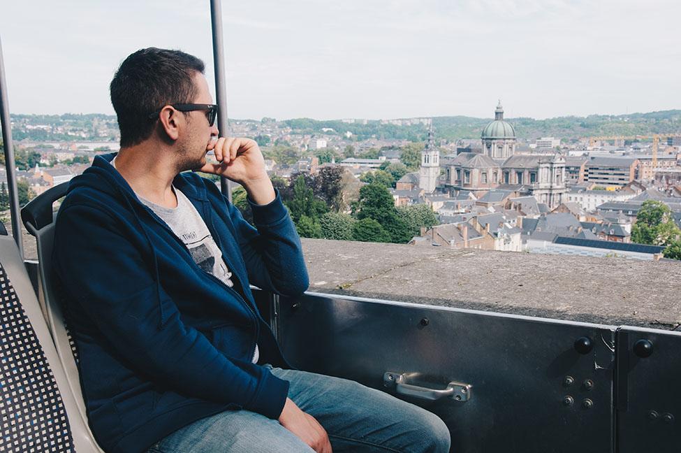 visite de la citadelle de namur en petit train