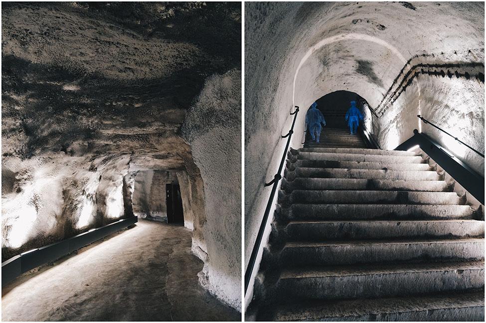 souterrains de la citadelle de namur