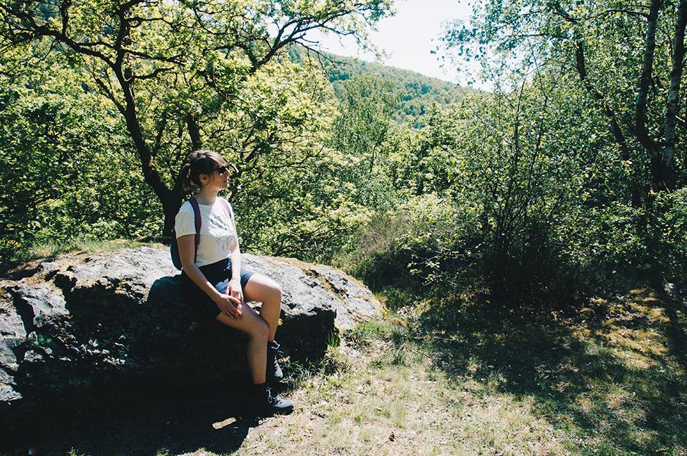 randonnée sur les crêtes de la meuse dans les ardennes