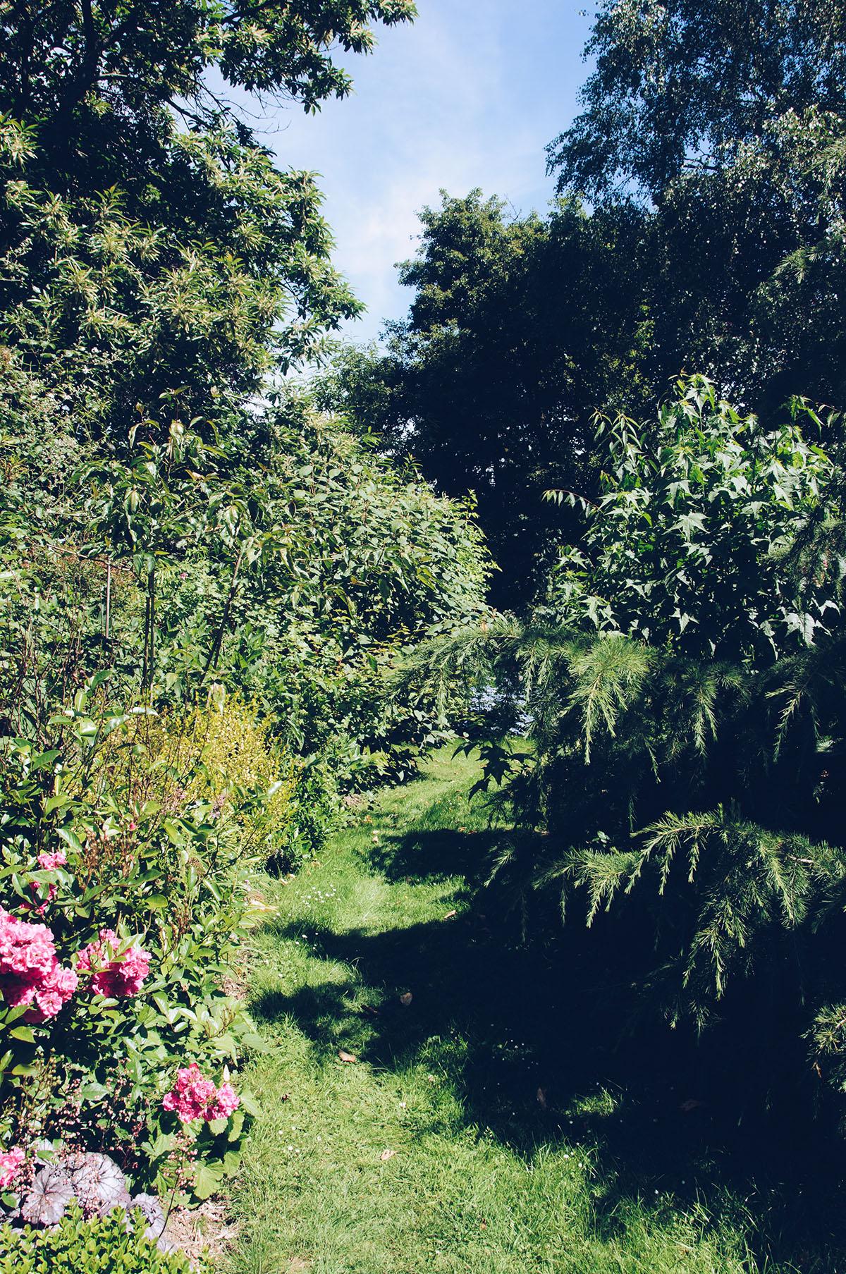 """au calme, nuit à """"Un air de campagne"""", jardin de Marie et Christophe"""