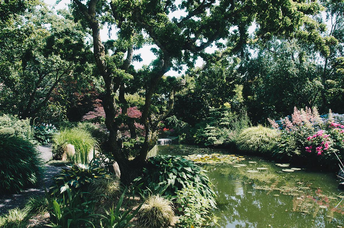 jardin de Valérianes, Ennecuit, Normandie