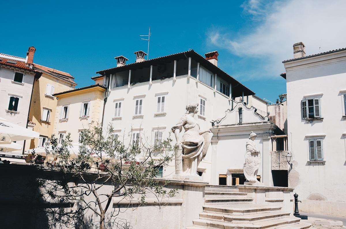 road-trip en slovénie, visite de piran