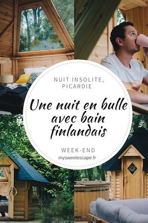 week-end insolite à chantilly, bulle en bois