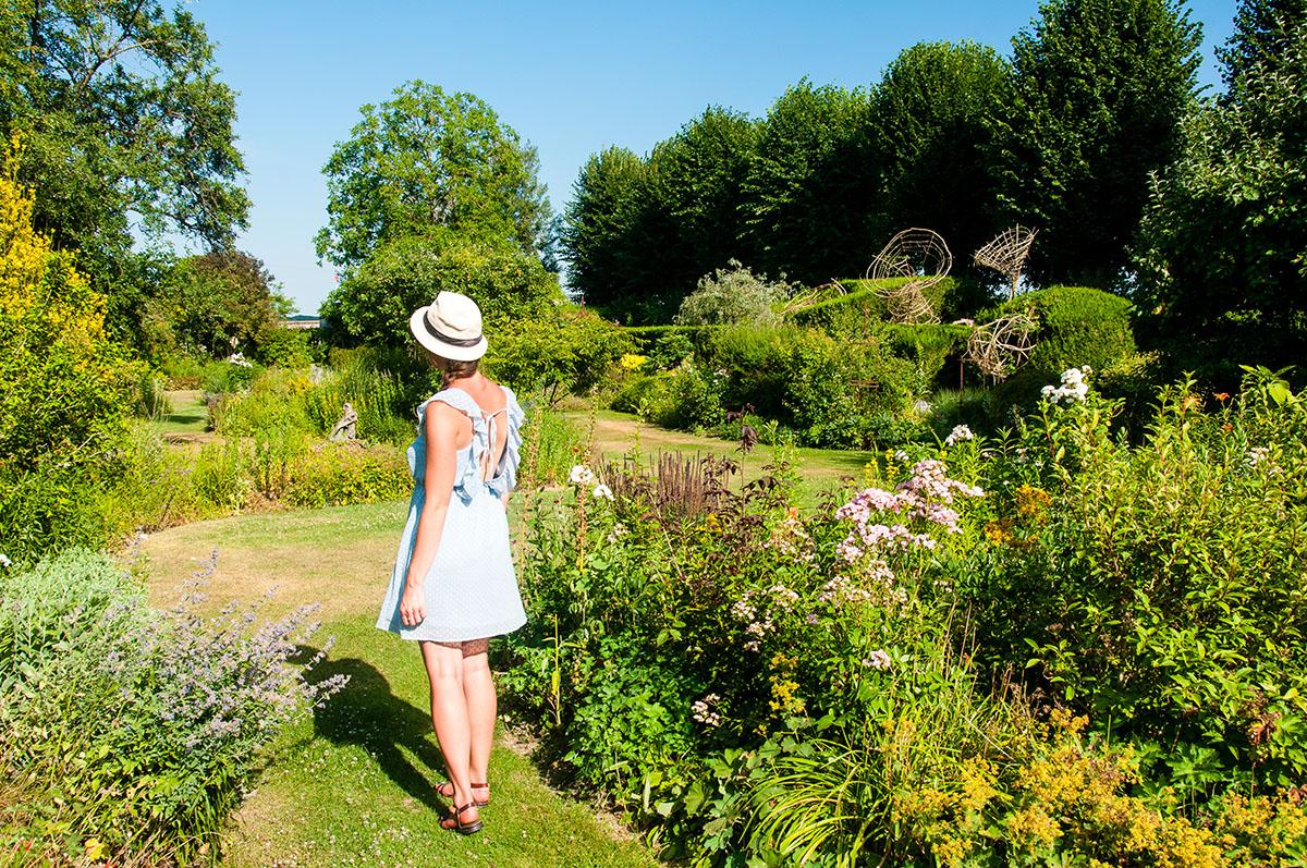 jardins du clos joli à brécy, aisne