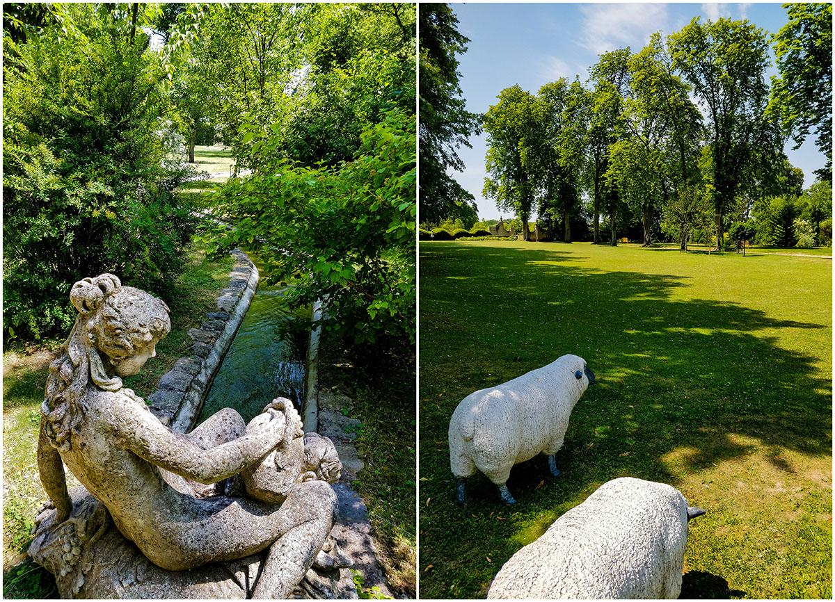jardins de la muette , largny-sur-automne, aisne