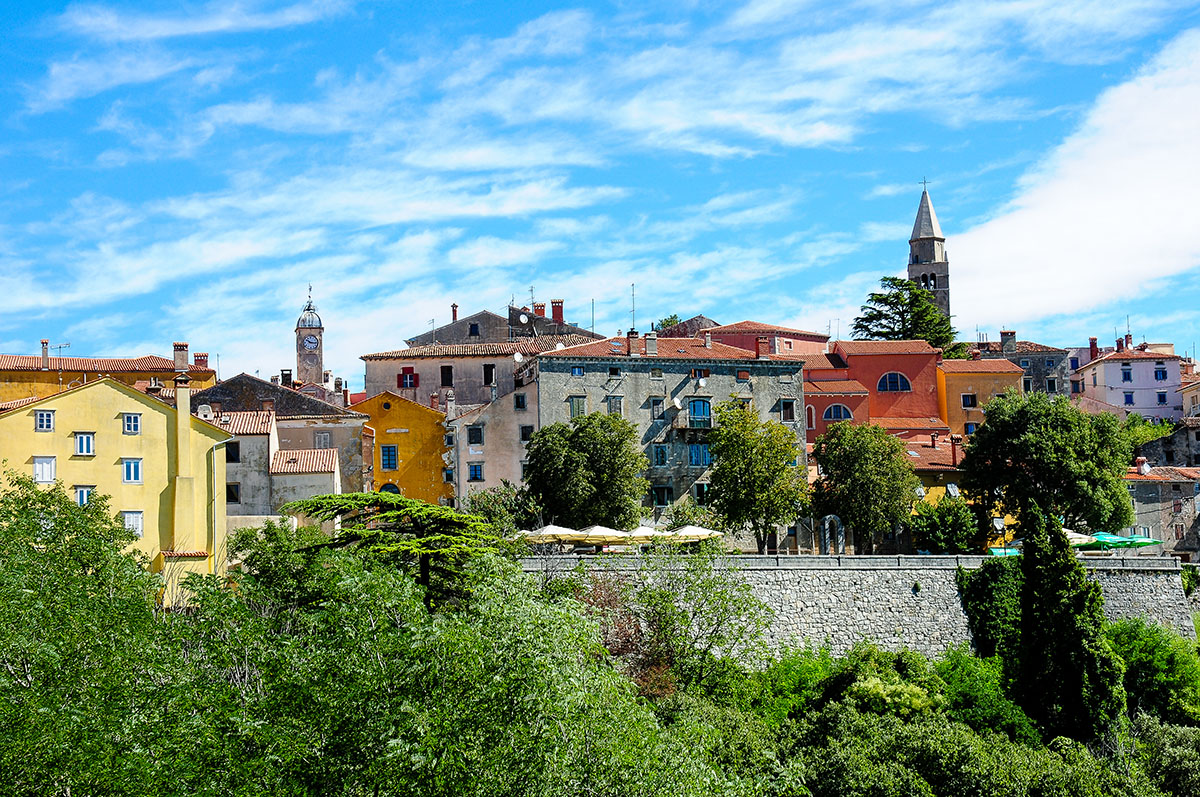 Labin, villages perchés , Croatie, Istrie