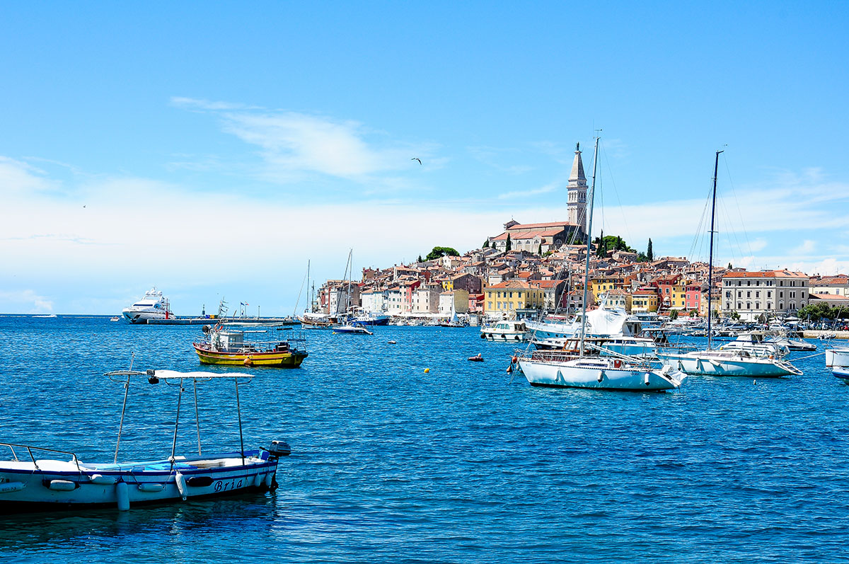 Rovinj , road-trip en Istrie , Croatie