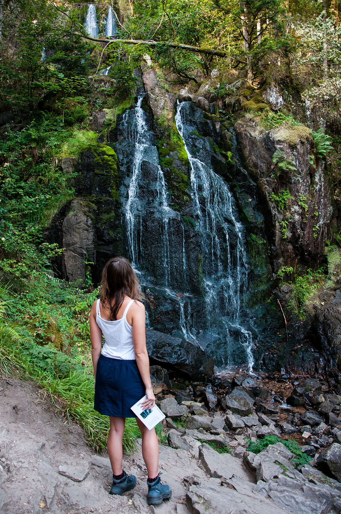 cascade de tendon, autour de Gérardmer , Vosges