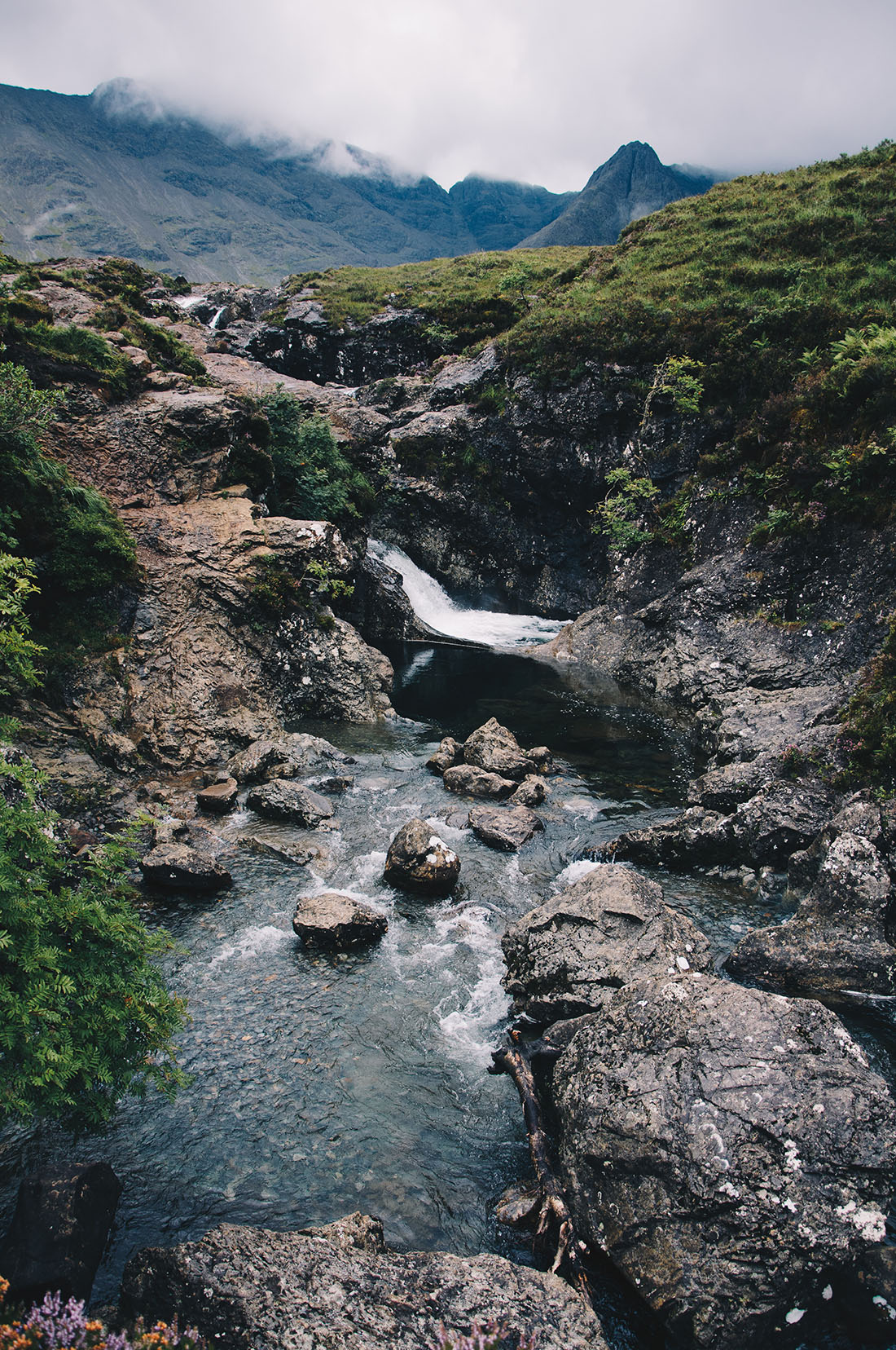 Fairy pools, road-trip en Ecosse, île de Skye