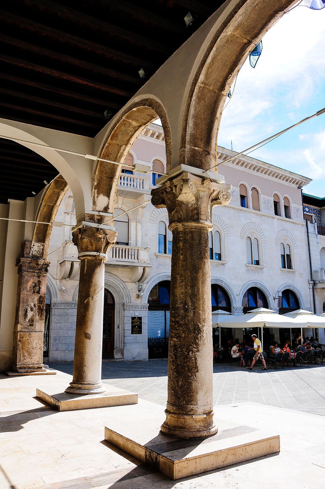 pula , forum, road-trip en croatie, istrie