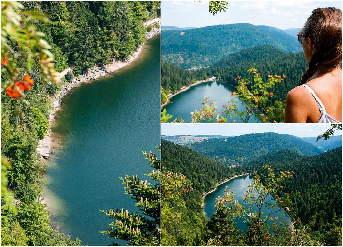 lac des corbeaux, randonner autour de Gérardmer , Vosges