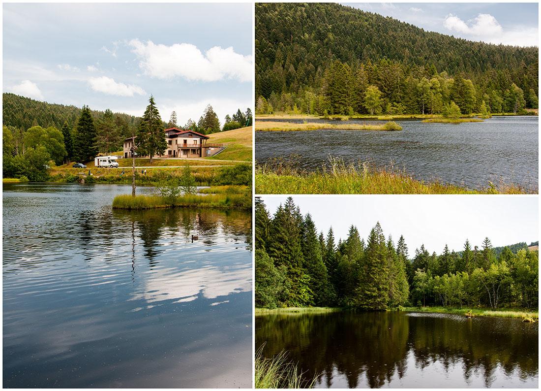 tour du lac de lispach, autour de Gérardmer , Vosges