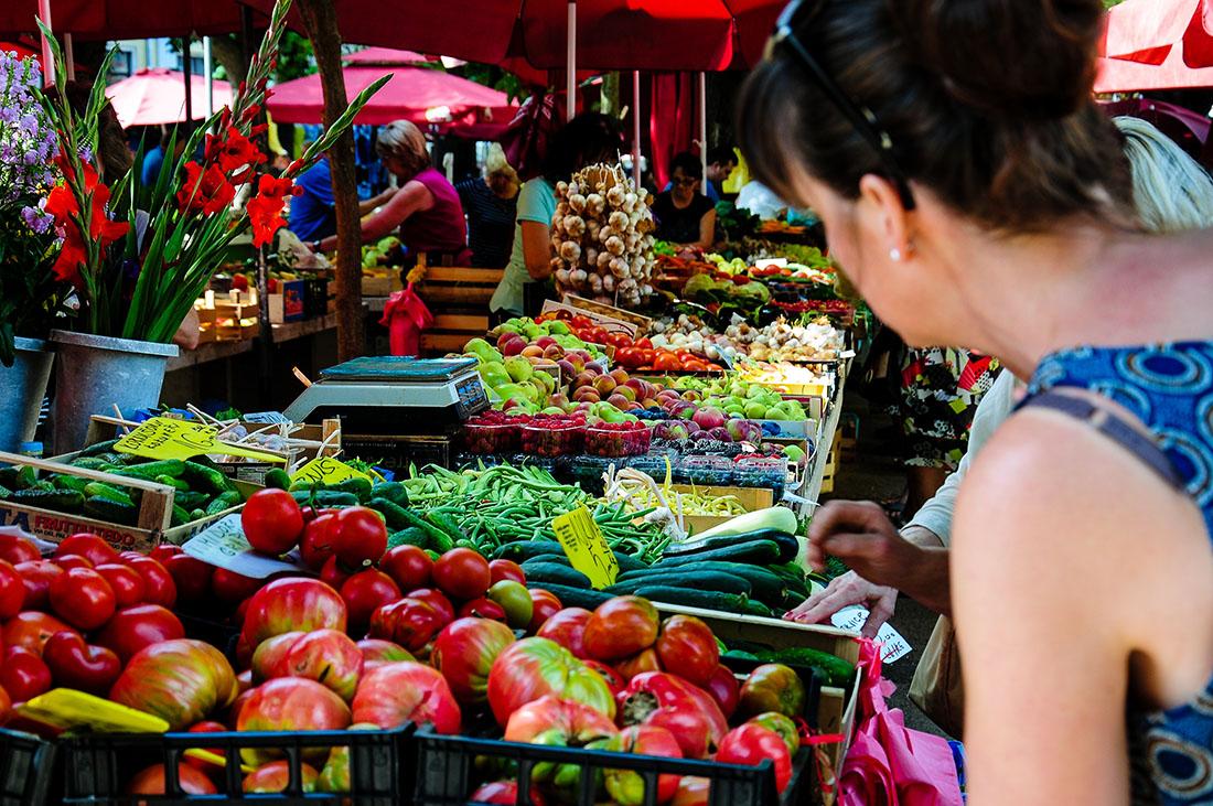 marché, Pula , road-trip en Croatie, Istrie
