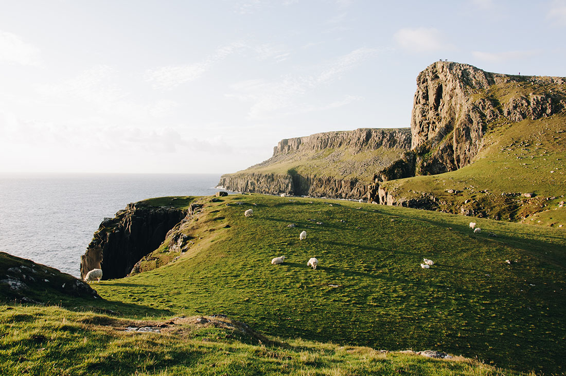nest point, île de skye, ecosse