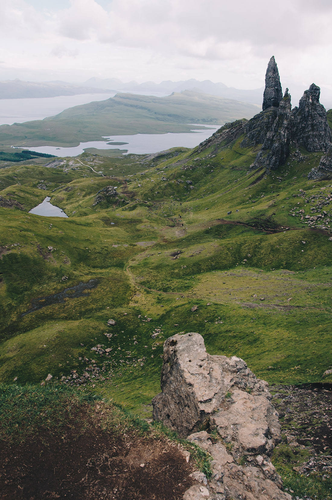 old man of storr, ecosse, skye