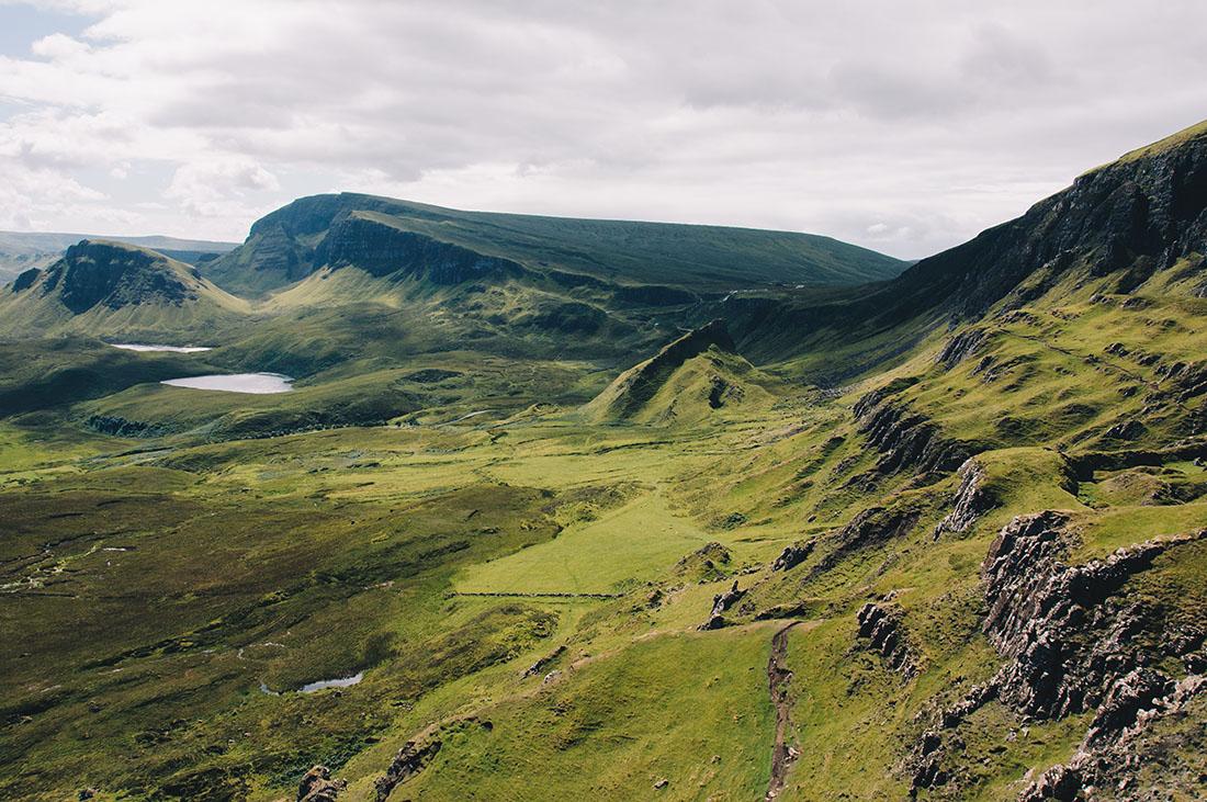 quiraing, île de Skye, road-trip en Ecosse
