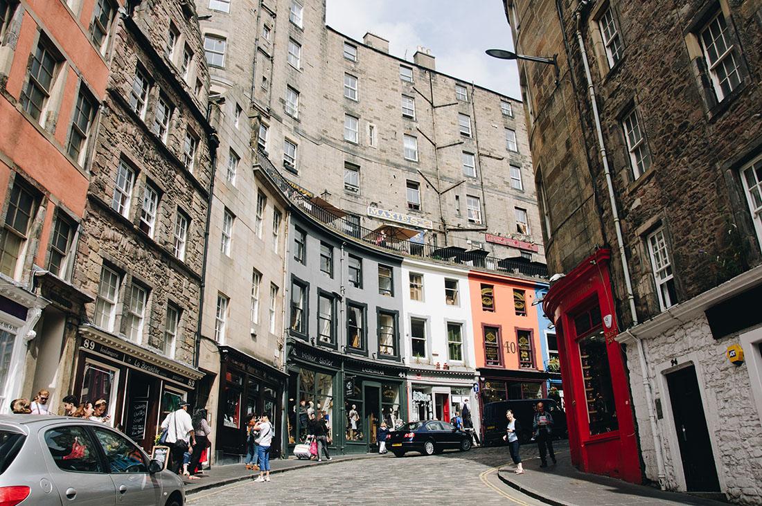 Victoria Street, chemin de Traverse, Edimbourg, Harry Potter, Ecosse