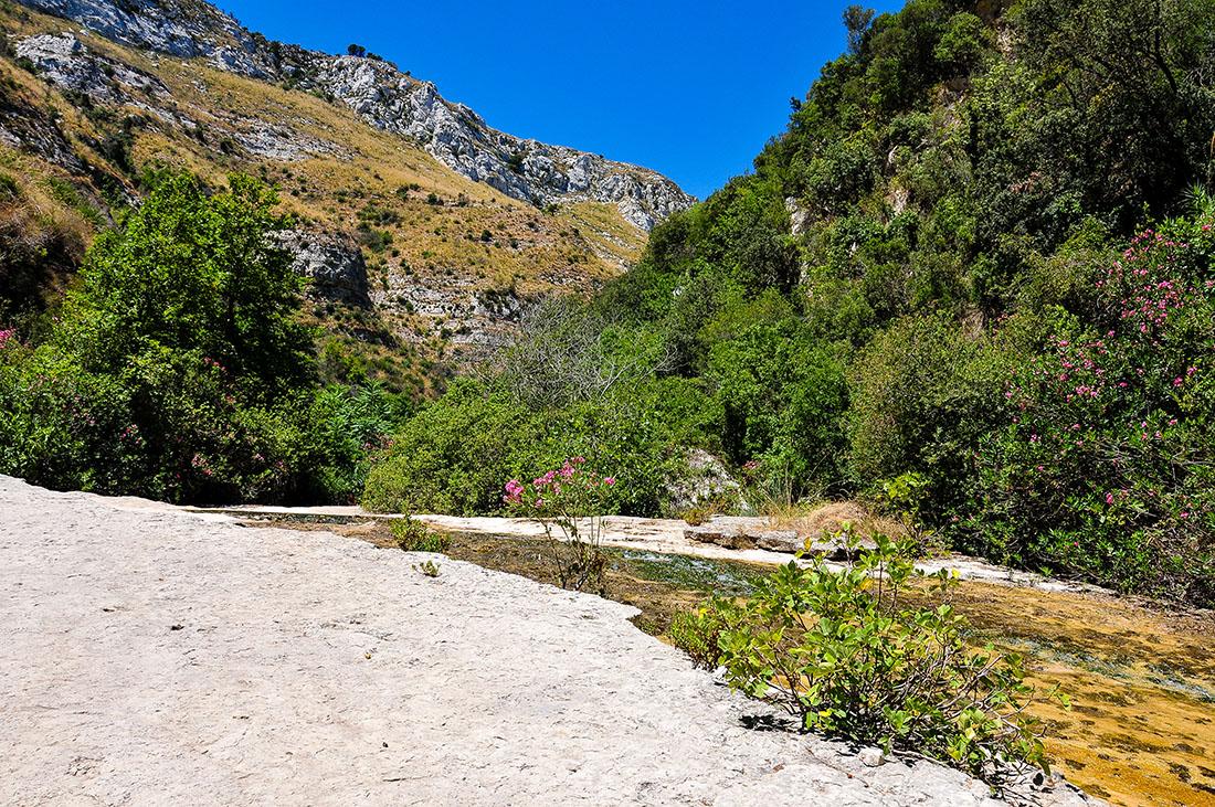 road-trip en sicile , randonnée cava grande del cassibile