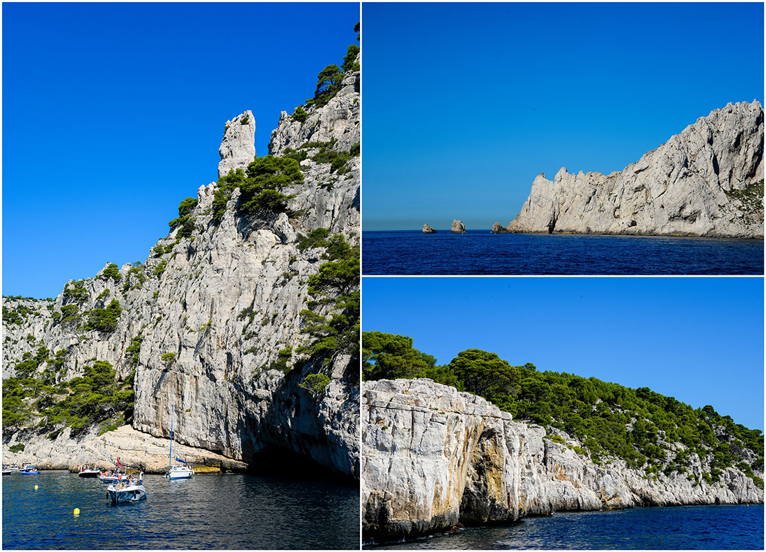 croisière sur les calanques, Marseille