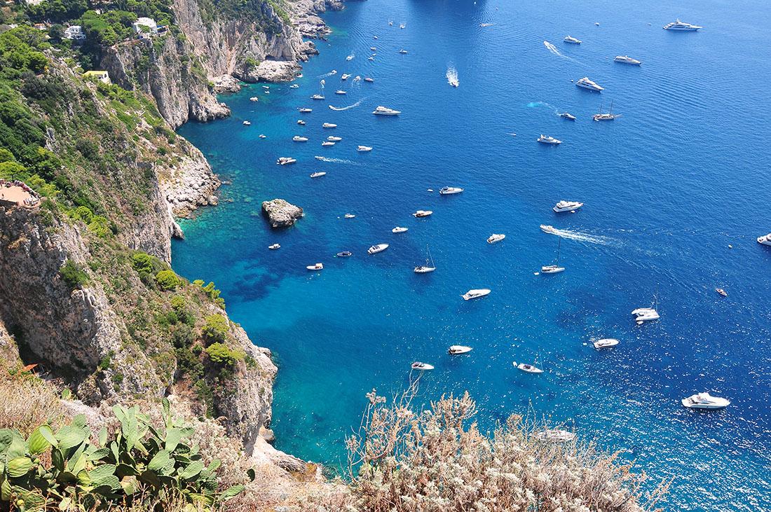 road-trip côte amalfitaine, capri