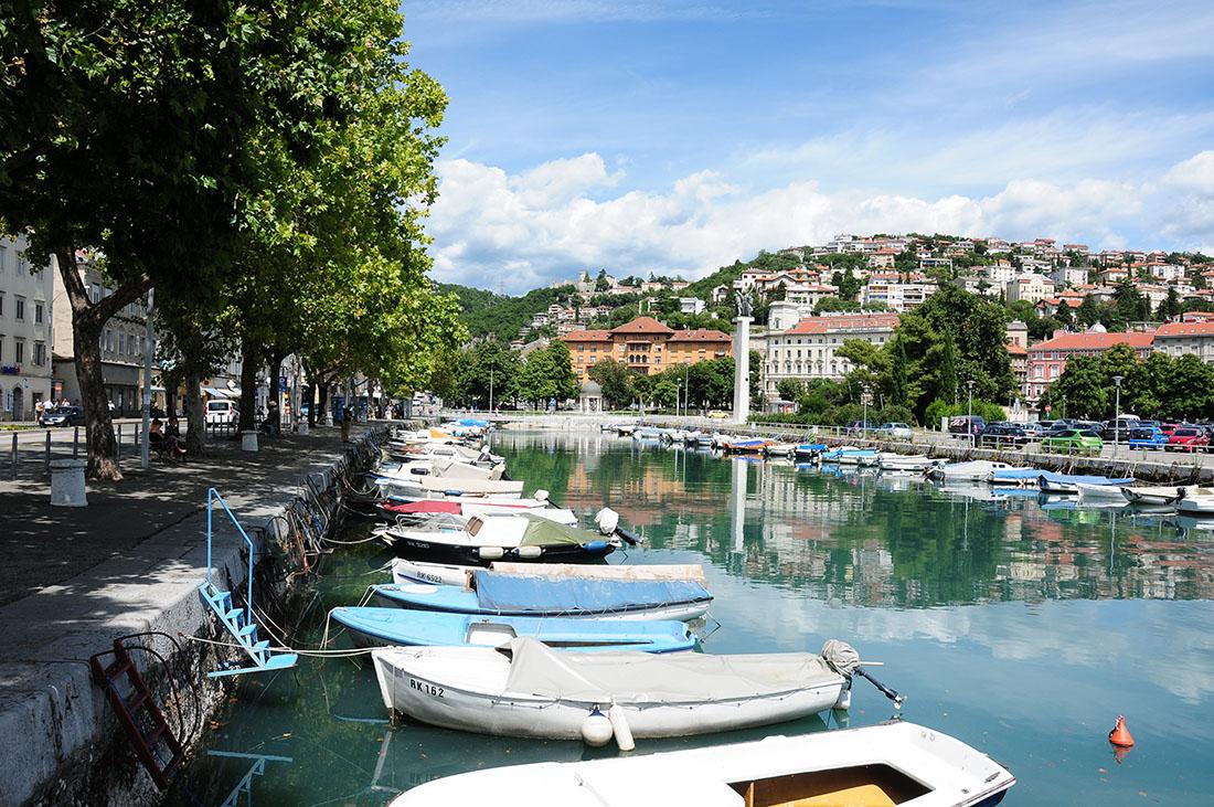 road-trip croatie, rijeka