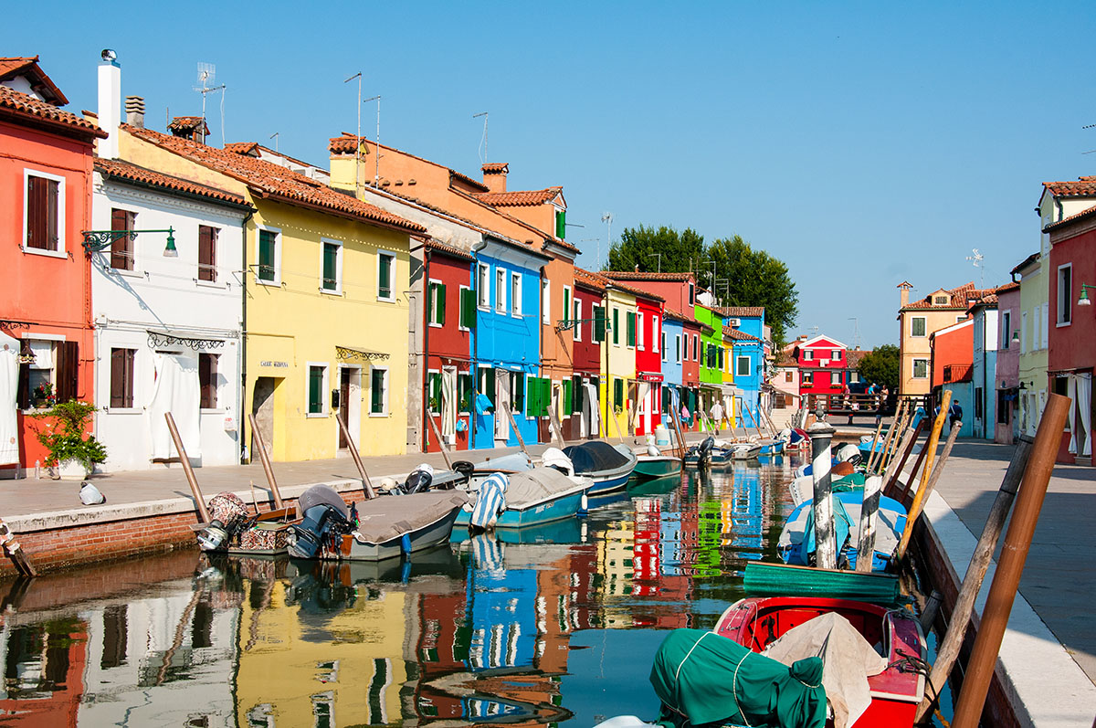 visite burano, week-end à Venise