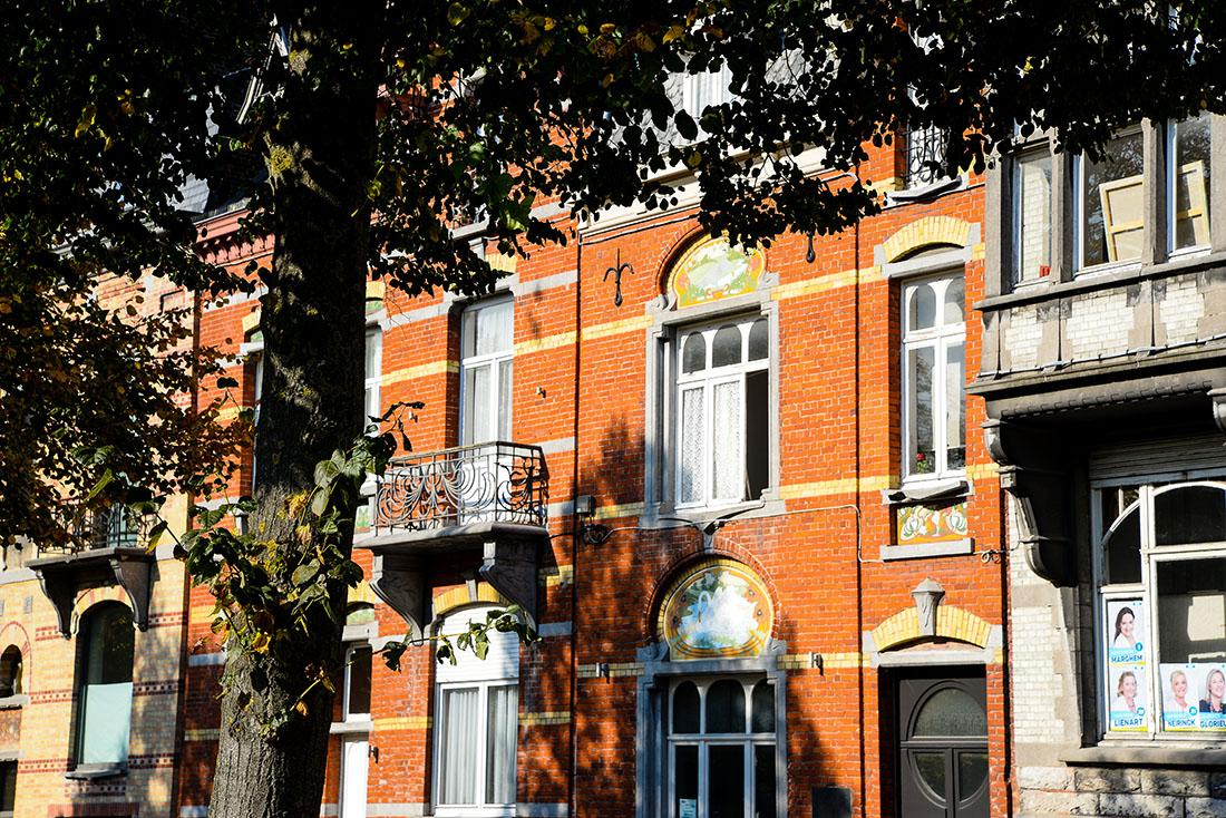 balade dans les rues de Tournai, belgique