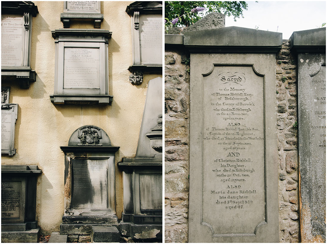 cimetière greyfriars, edimbourg, tombe voldemort, harry potter