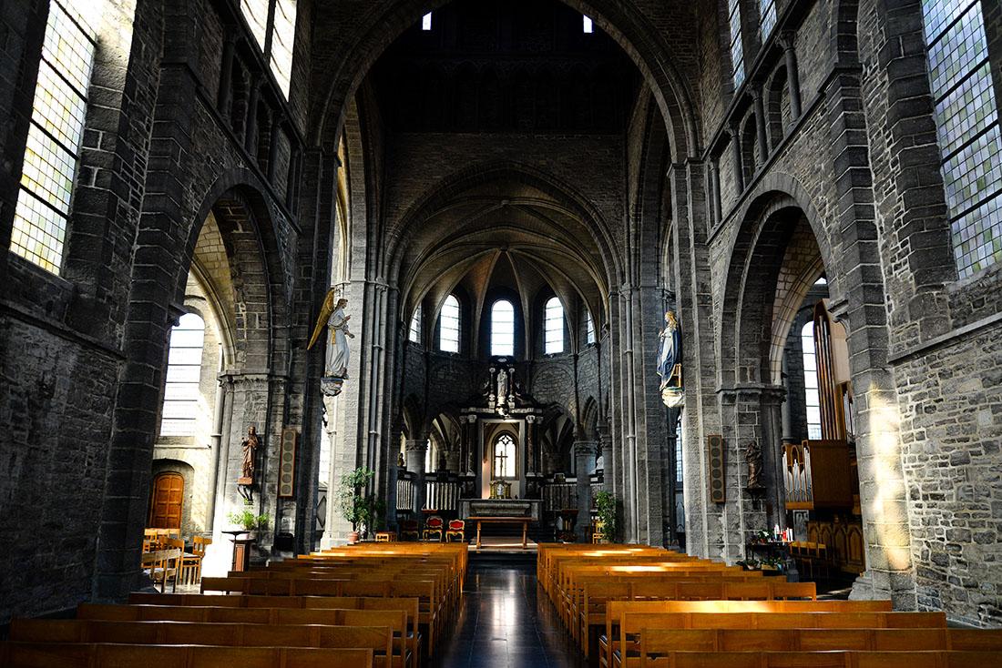 église saint-quentin, tournai