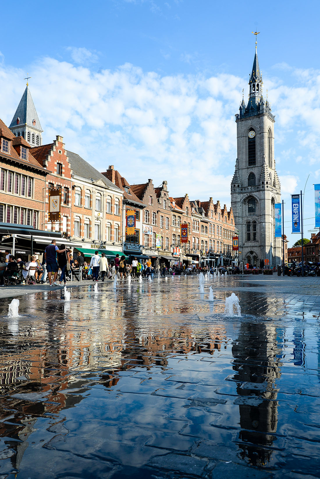 Grand-Place, Tournai, Wallonie