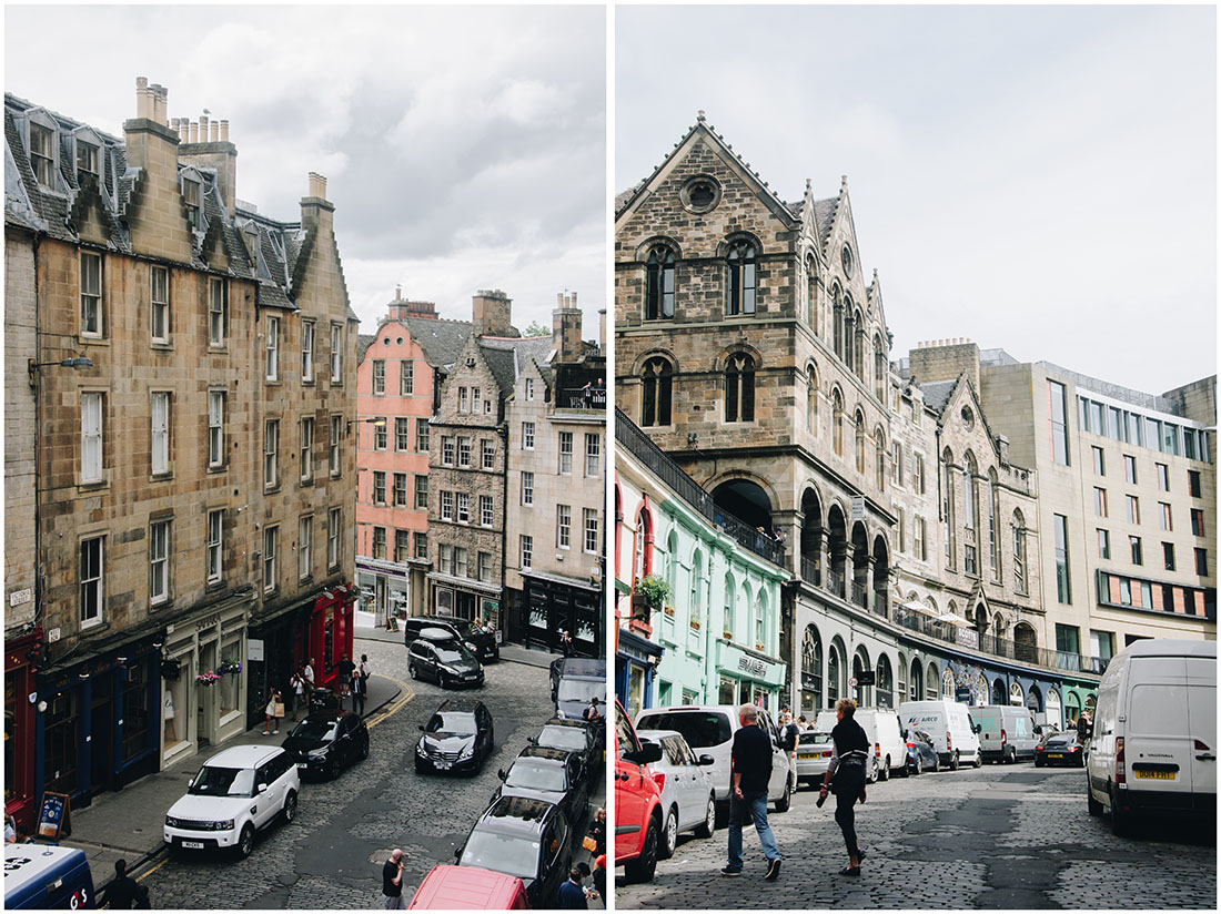victoria street, edimbourg, chemin de traverse, harry potter