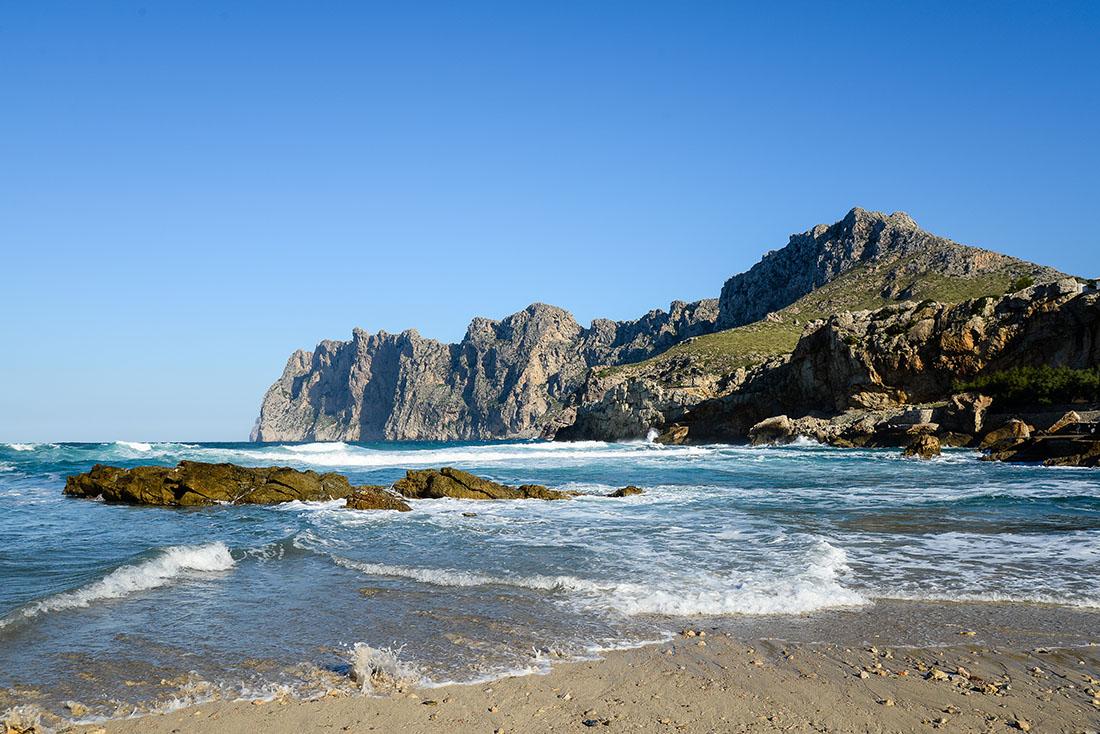 une semaine à Majorque, cala sant vincenc