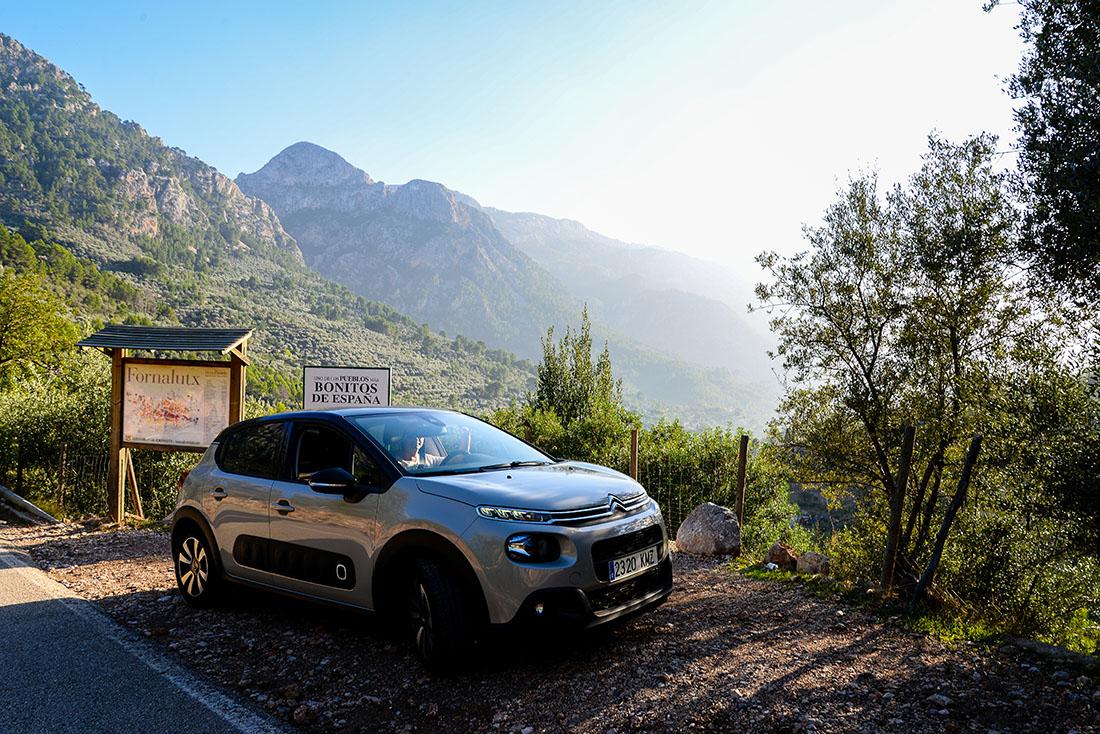 sur les routes de Majorque, Baléares, Fornalutx