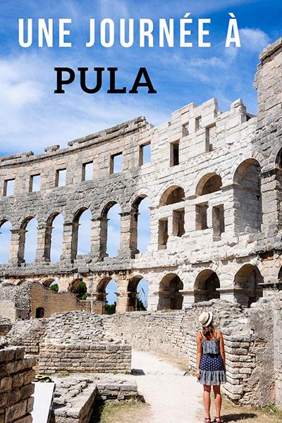 journée à Pula, Istrie, road-trip en Croatie, que faire