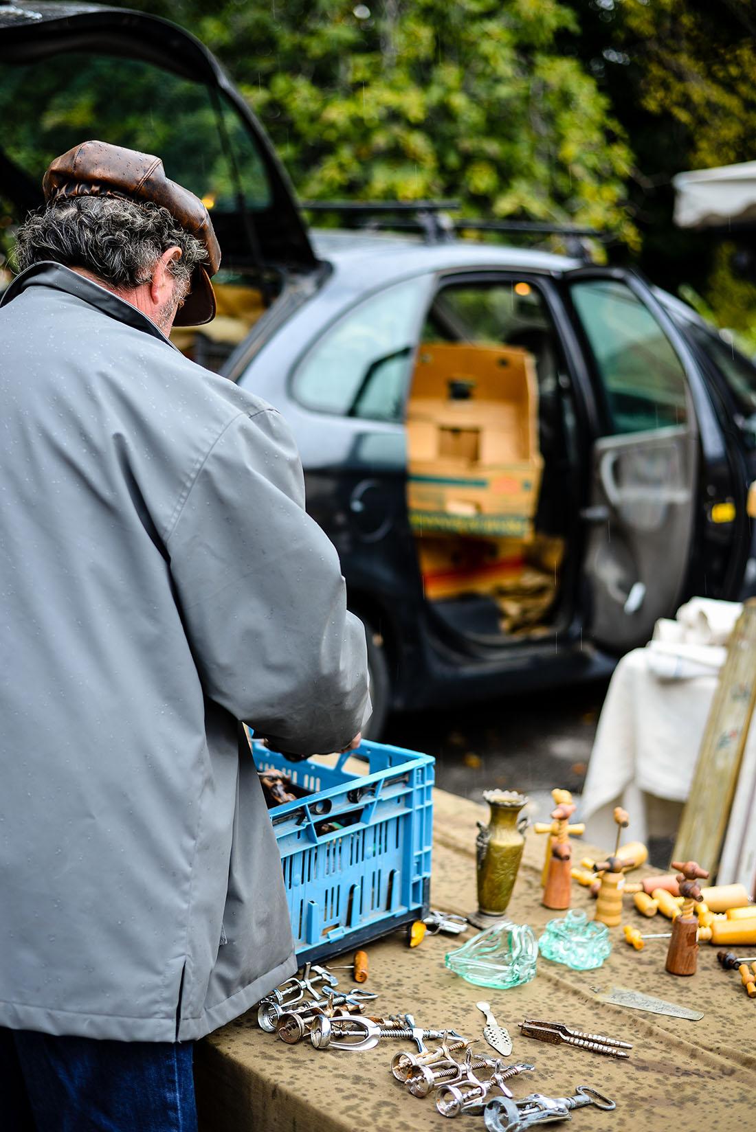 marché des brocanteurs, isle-sur-la-sorgue