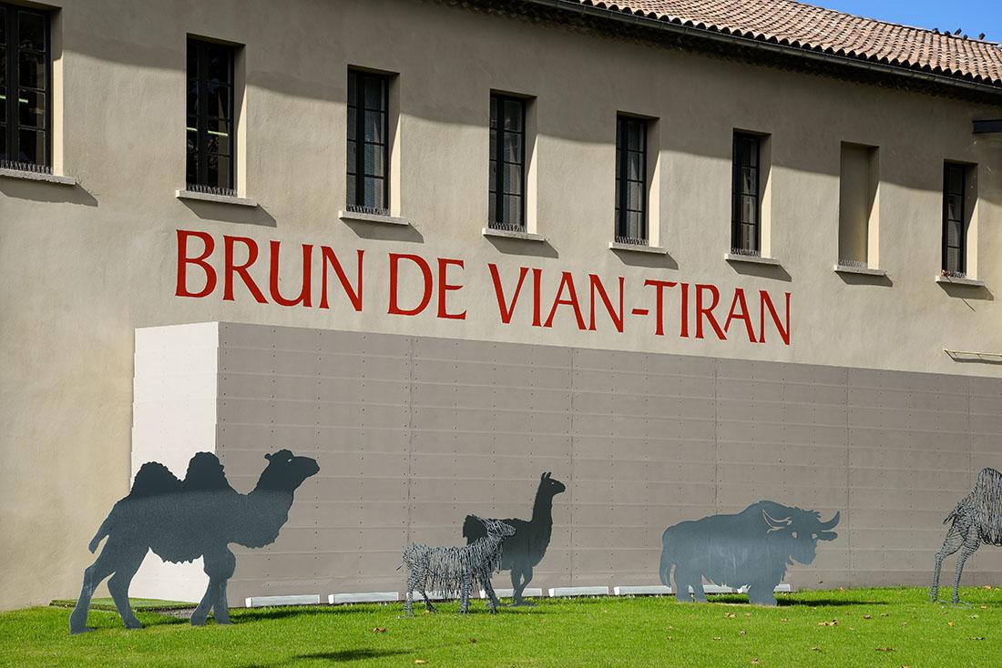 Musée Filaventure, musée Brun de Vian-Tiran, L' Isle-sur-la-Sorgue , Vaucluse